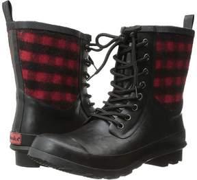 Chooka Cara Plaid Rain Boot