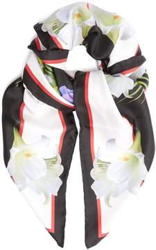 Givenchy Lady-print silk-twill scarf