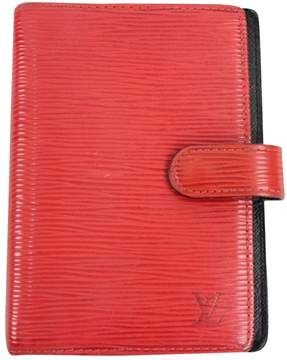Louis Vuitton Red Leather Purse