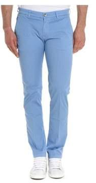 Re-Hash Men's Light Blue Cotton Pants.