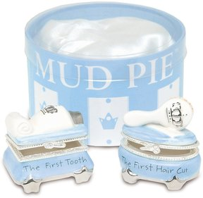 Mud Pie Prince Tooth & Curl Treasure Box Set