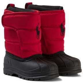 Ralph Lauren Red Hamilten II Snow Boots