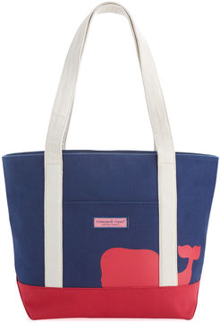 Vineyard Vines Whale Line Classic Tote