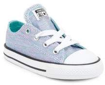 Converse Baby's and Toddler's Jersey Knit Low Top Sneakers