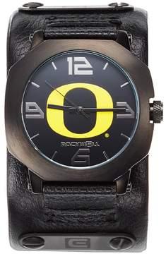Rockwell Kohl's Oregon Ducks Assassin Leather Watch - Men