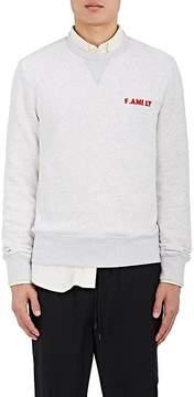 Ami Alexandre Mattiussi Men's F.AMI. LY Cotton Fleece Sweatshirt