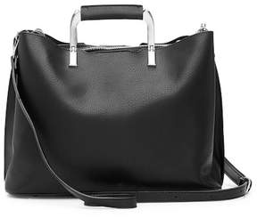 Urban Expressions Luca Vegan Leather Satchel