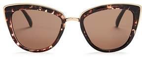Quay My Girl Cat Eye Sunglasses, 55mm