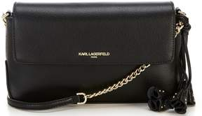 Karl Lagerfeld Paris Iris Leather Cross-Body Bag