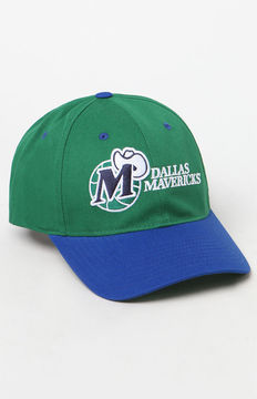 Mitchell & Ness Dallas Mavericks Strapback Dad Hat