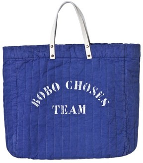 Bobo Choses Mazarine Blue Padded A Legend Tote Bag