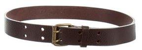 Bonpoint Boys' Brown Leather Belt