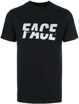 Facetasm logo print T-shirt