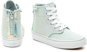 Vans Girls Camden Hi Zip Toddler & Youth High-Top Sneaker