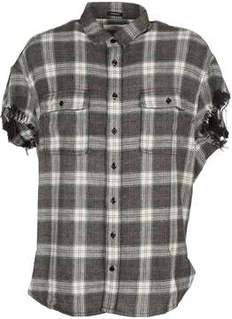 R 13 Shirt Check Mc Oversized