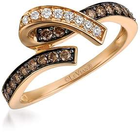 LeVian Le Vian Women's Chocolatier Diamond and 14K Strawberry Gold Ring