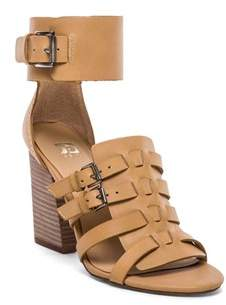 Joe's Jeans Womens Marley Leather Open Toe Casual Strappy Sandals.