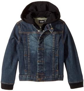 Hudson Hoodie Jean Jacket Boy's Sweatshirt