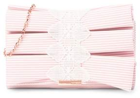 Ted Baker Box Pleat Bow Evening Bag