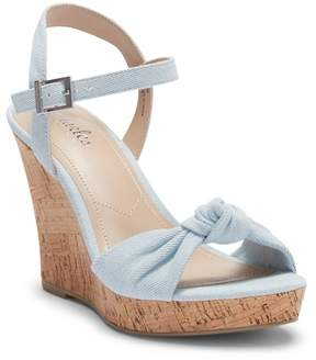 Charles by Charles David Lolly Knotted Platform Wedge Sandal