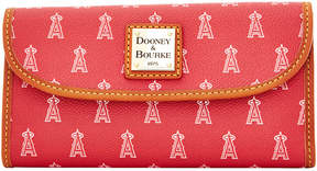 Dooney & Bourke Los Angeles Angels of Anaheim Large Continental Clutch