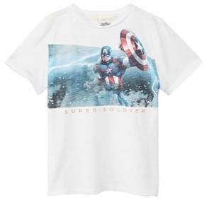 MANGO Superhero cotton Marvel t-shirt