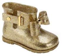 Mini Melissa Toddler's & Girl's Sugar Rain Glitter Bow Boots