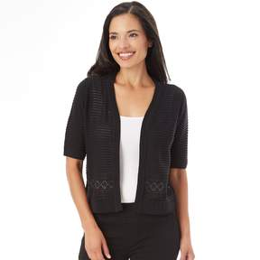 Apt. 9 Women's Shadow Stripe Cardigan