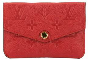 Louis Vuitton Cerise Monogram Empreinte Leather Key Pouch - CERISE CHERRY - STYLE