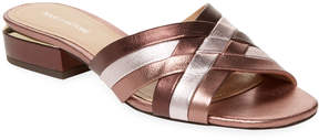 Pour La Victoire Women's Malenanl Metallic Leather Sandal