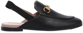 Gucci Princetown Nappa Leather Loafers