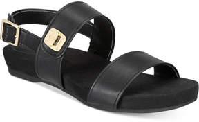 Giani Bernini Ramonaa Memory Foam Footbed Sandals, Created for Macy's Women's Shoes