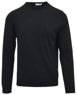 Valentino Men's Black Wool Sweater.