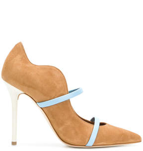 Malone Souliers Maureene pointed strap mules