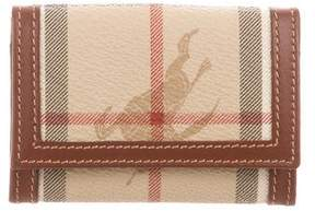Burberry Haymarket Check Coin Purse