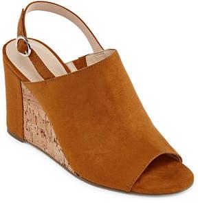 Liz Claiborne Whitley Womens Wedge Sandals