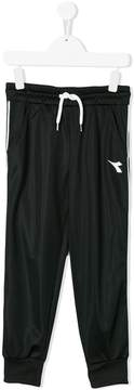Diadora Junior logo track trousers