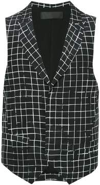 Haider Ackermann checked gilet