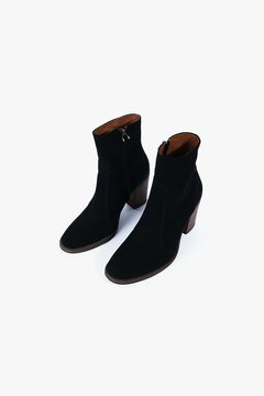 Genuine People Suede Ankle Boot