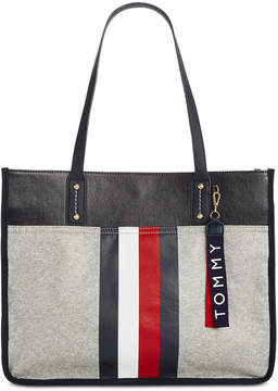 Tommy Hilfiger Raleigh Coated Fleece Tote