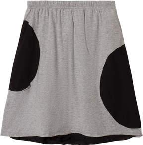 Nununu Heather Grey Circle Skirt