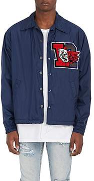 Facetasm Men's College Appliquéd Coach's Jacket