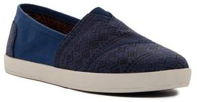 Toms Avalon Geo Twill Sneaker