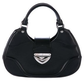 Louis Vuitton Epi Sac Montaigne - BLACK - STYLE