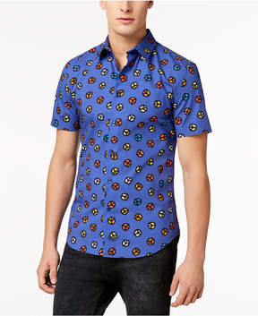 Love Moschino Men's Slim-Fit Printed Shirt