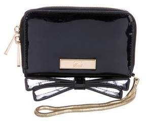Zac Posen Patent Leather Bow Wallet