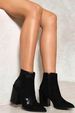 Nasty Gal Dark Star Ankle Boot