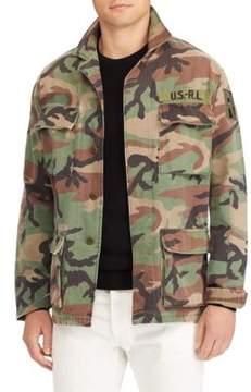 Polo Ralph Lauren Airborne Cotton Utility Overshirt
