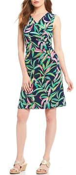 Tommy Bahama Lucky Bamboo Sleeveless Wrap Dress