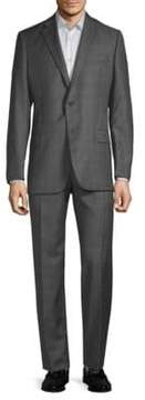 Hickey Freeman Plaid Wool Suit